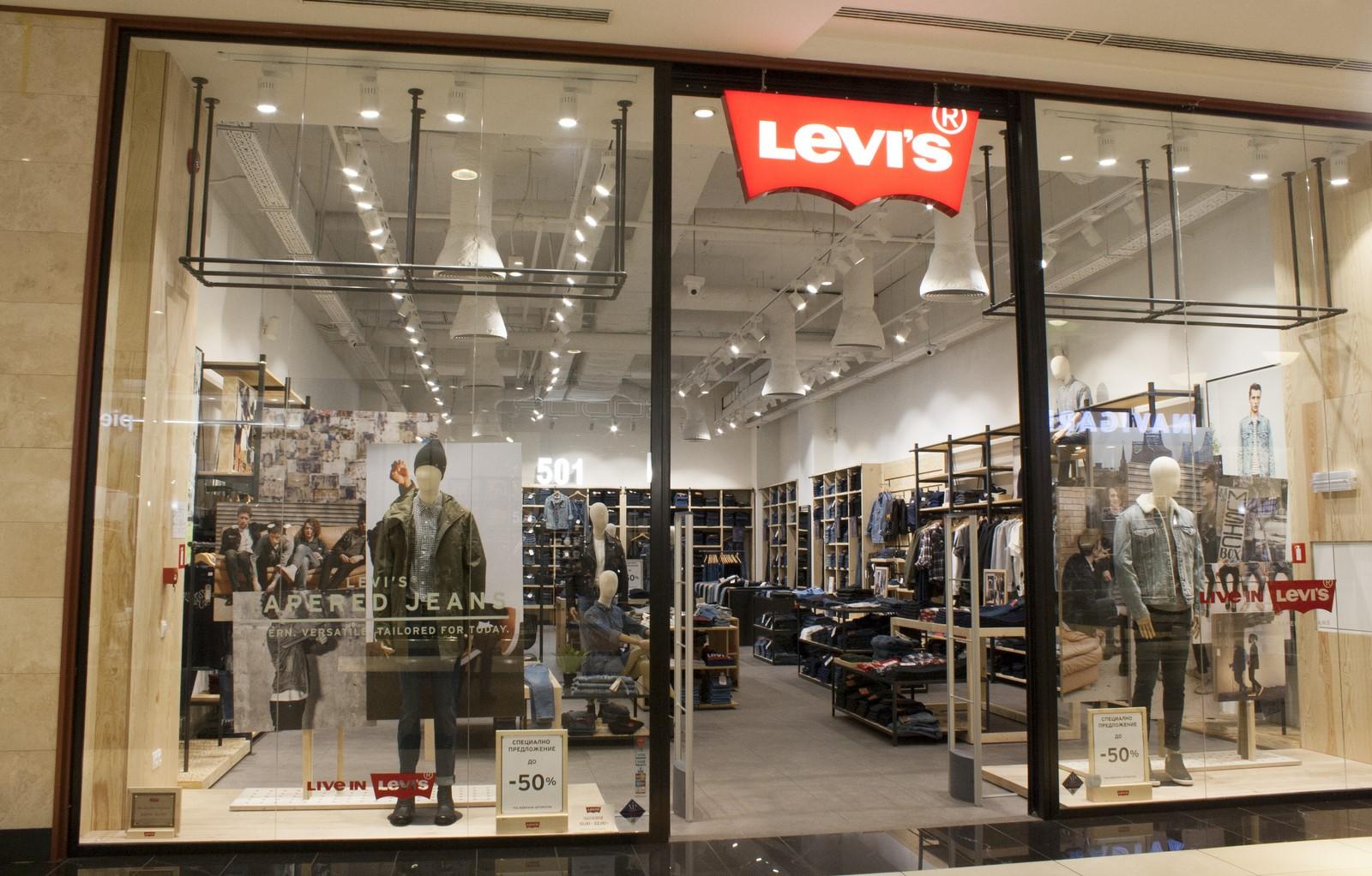 Магазин Levis